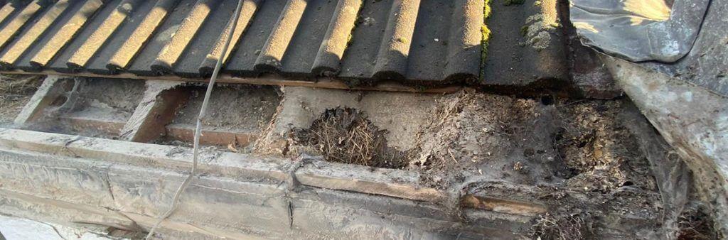 Finlock concrete guttering problems (2)
